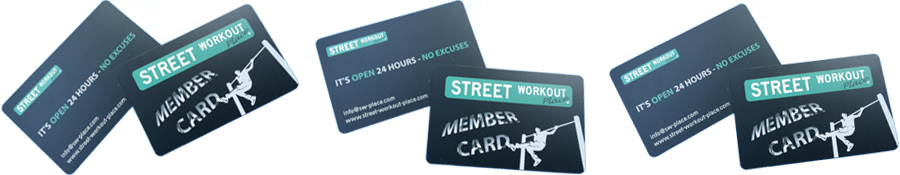 Street Workout Place_Member Cards